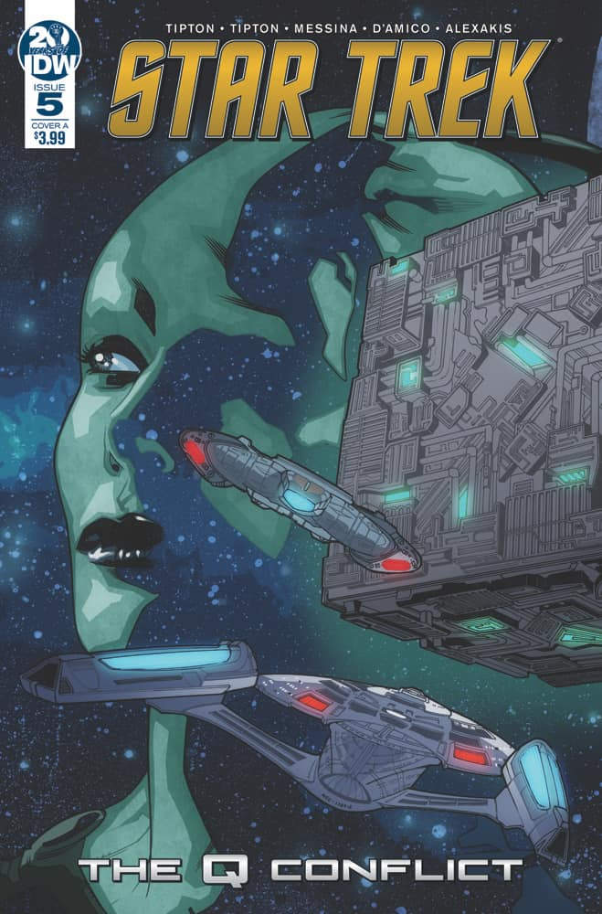 Star Trek: The Q Conflict #5  Cover A