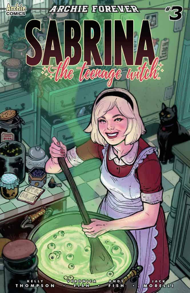 SABRINA THE TEENAGE WITCH #3 - Variant Cover by Victor Ibanez