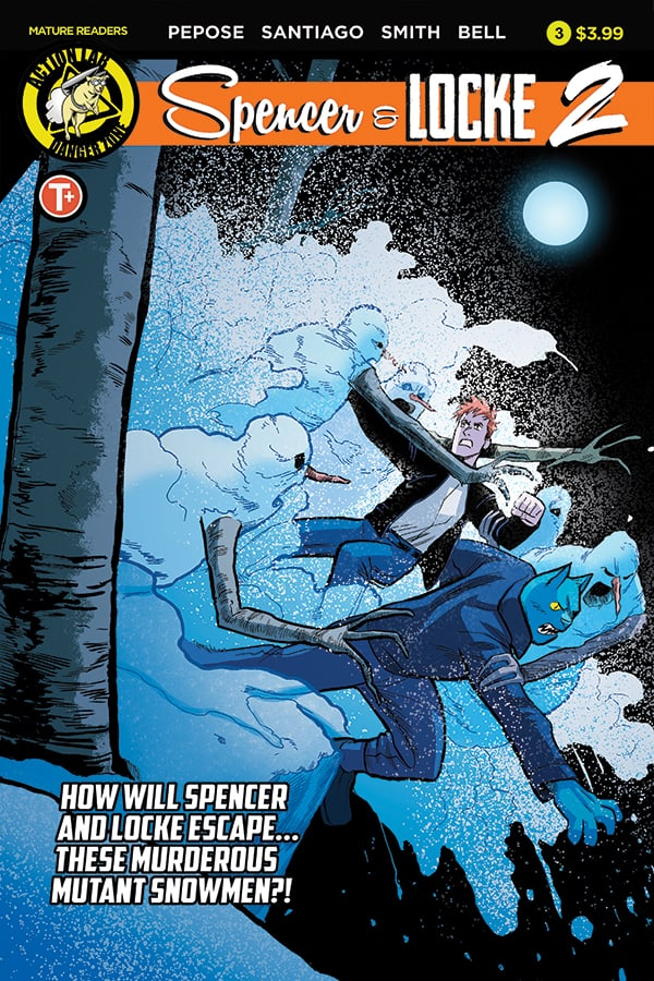 Spencer & Locke 2 #3 Cover A (Jorge Santiago Jr Main)
