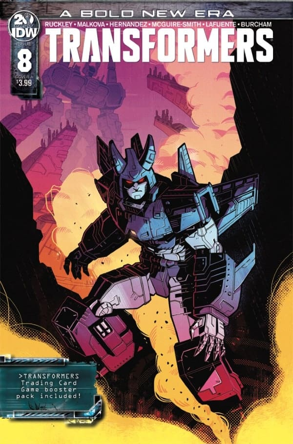 Transformers #8 - Cover A