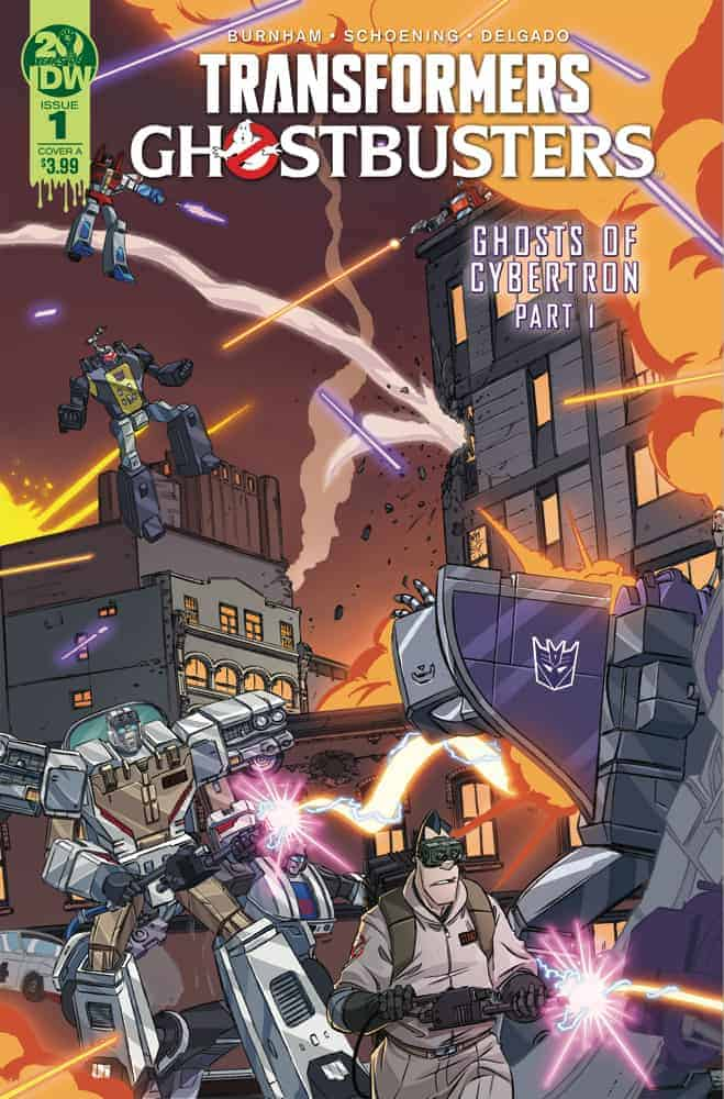 Transformers/Ghostbusters #1 Cover A