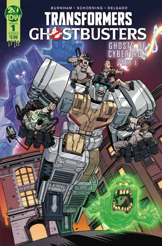 Transformers/Ghostbusters #1 Cover B