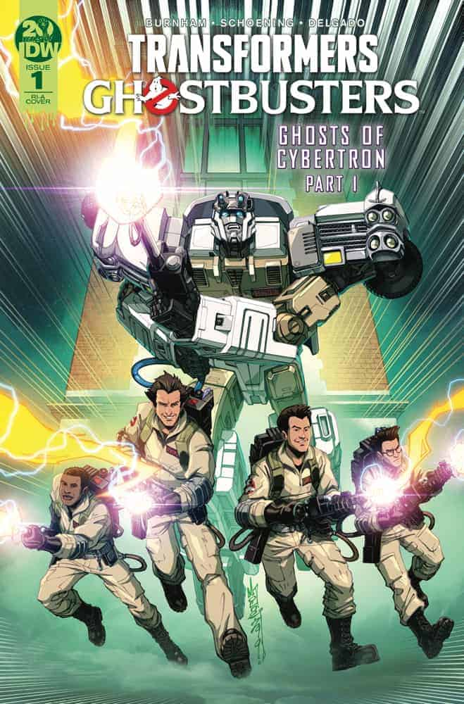 Transformers/Ghostbusters #1 Retailer Incentive Variant A