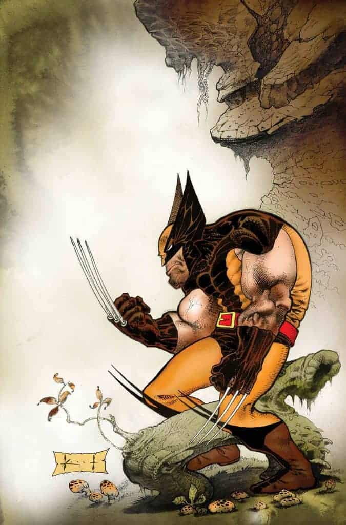 Wolverine Exit Wounds #1 Cover B by Sam Kieth