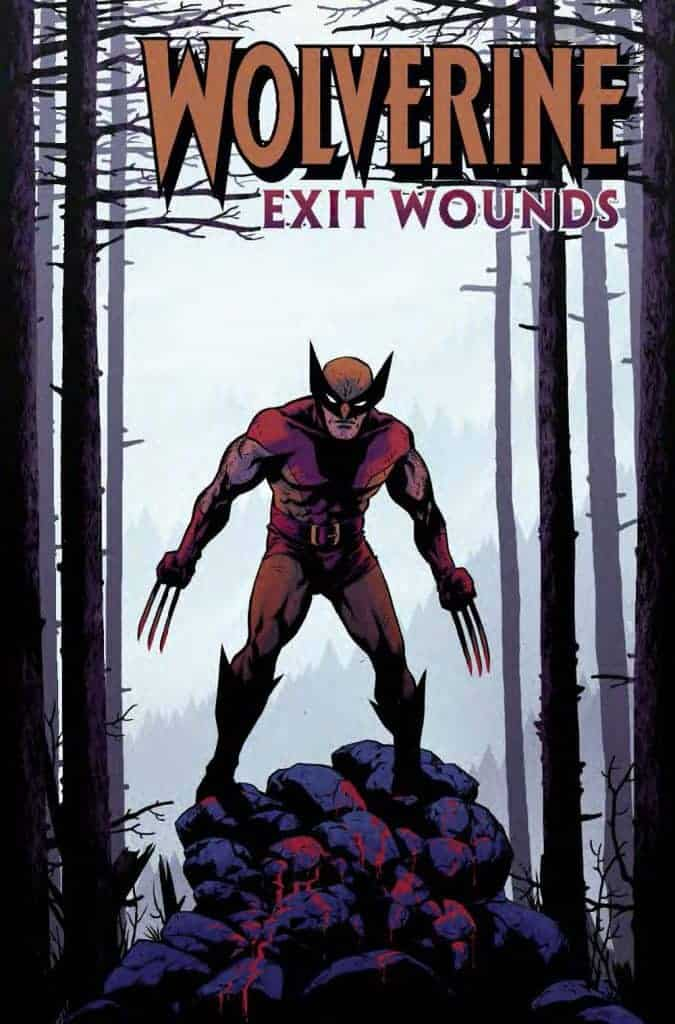 Wolverine Exit Wounds #1 Cover D by Becky Cloonan