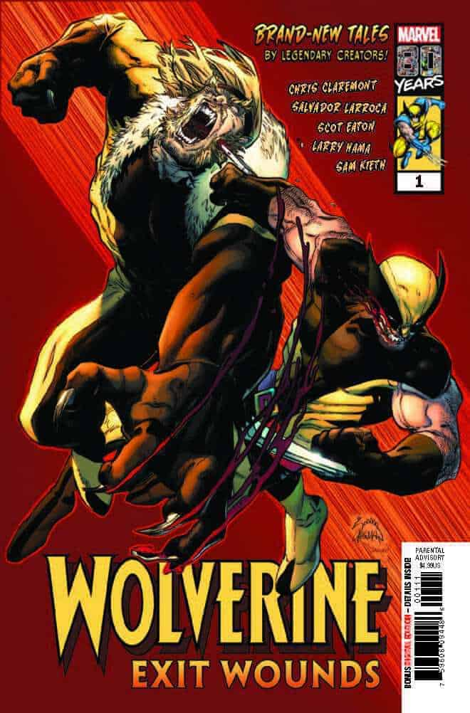 Wolverine Exit Wounds #1 Main Cover by Ryan Stegman