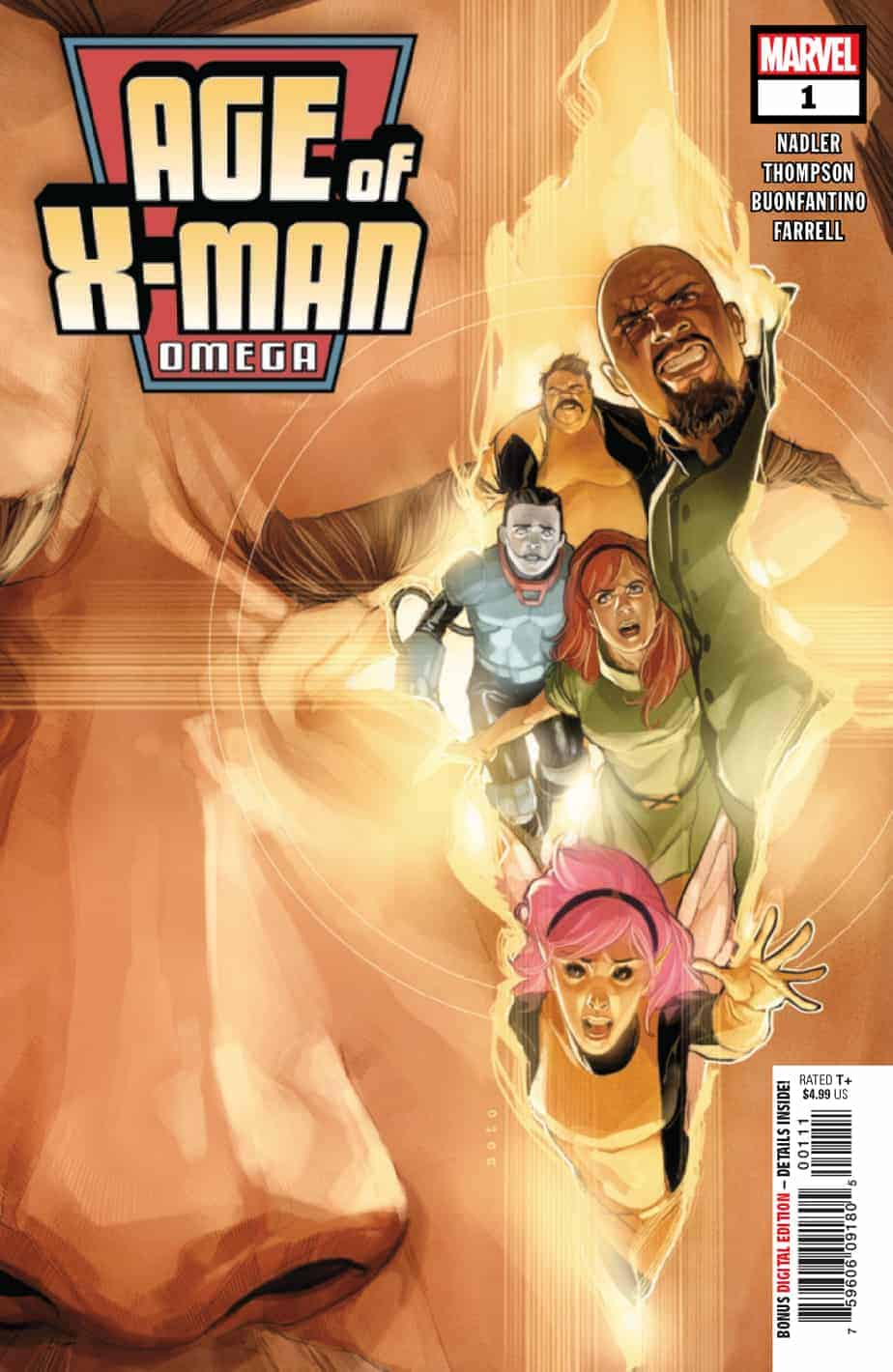 Age of X-Man: Omega #1 - Cover A