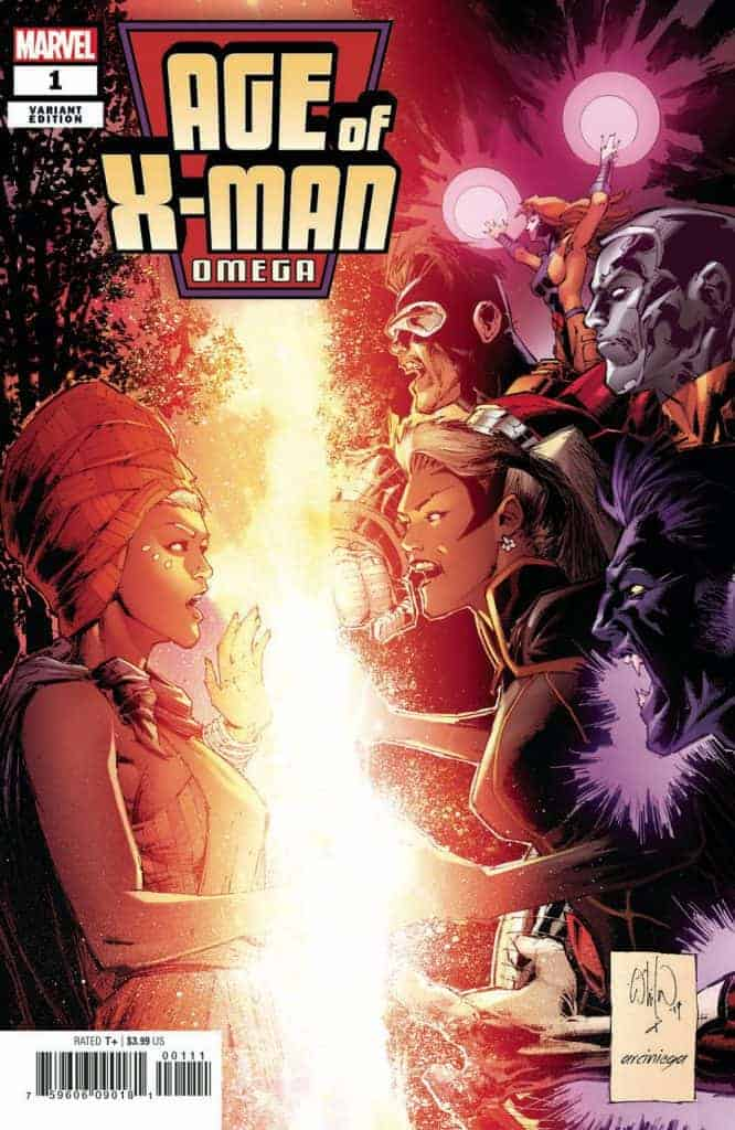 Age of X-Man: Omega #1 - Cover B