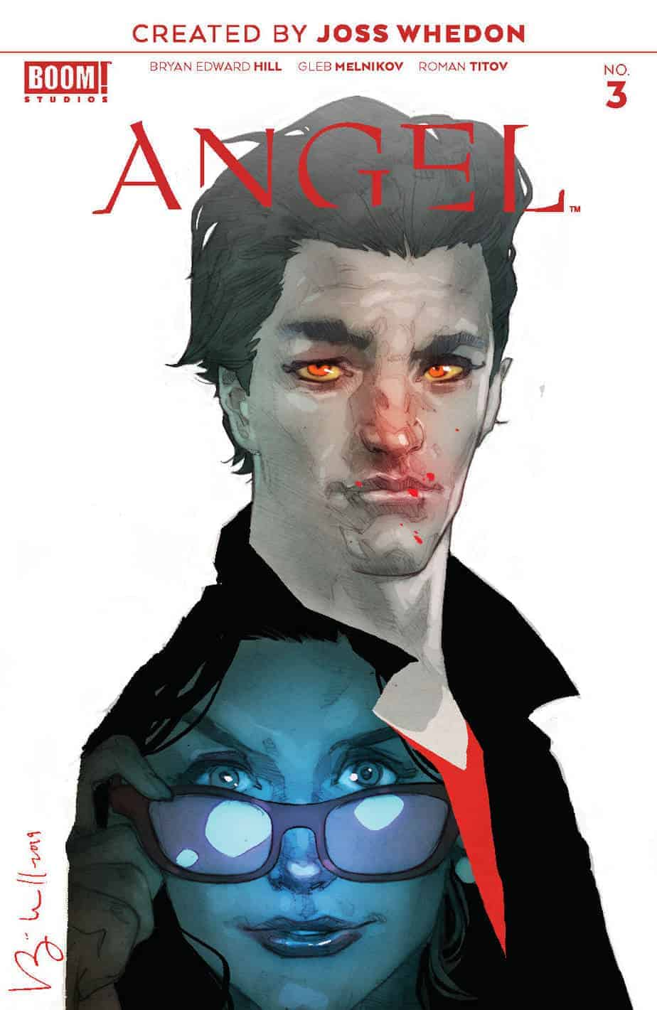 ANGEL #3 - Incentive Cover
