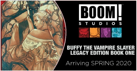 BUFFY THE VAMPIRE SLAYER LEGACY EDITION BOOK ONE news feature