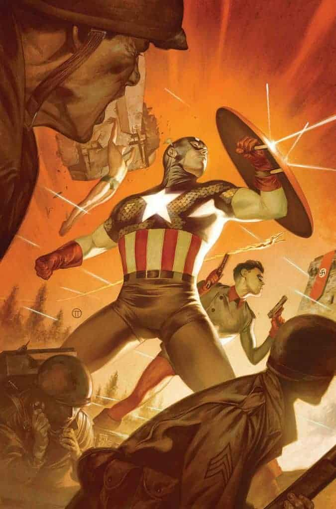 Captain America #12 - Cover B