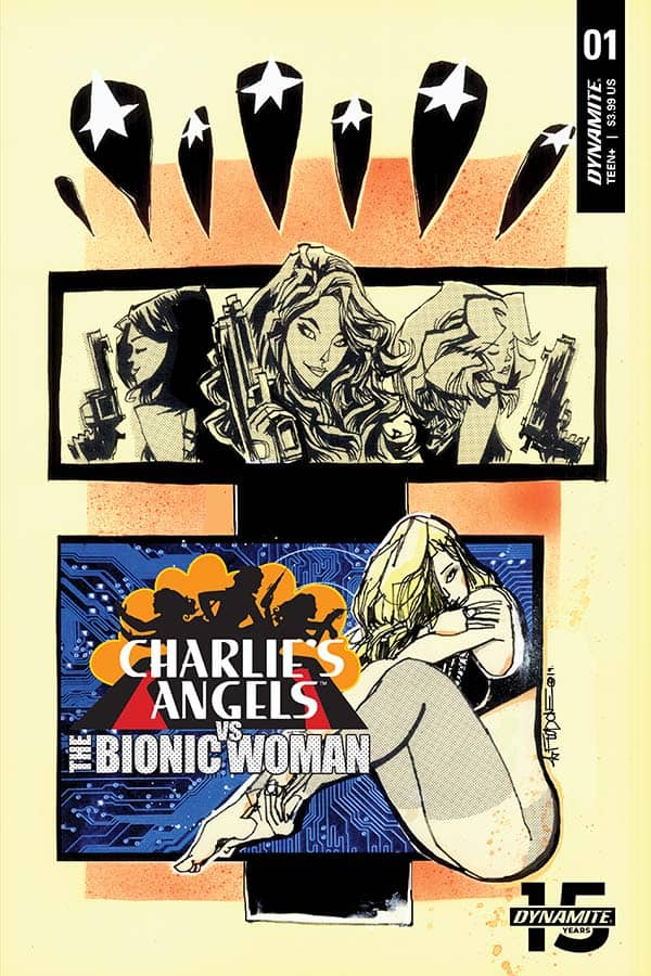 Charlie's Angels vs The Bionic Woman #1 - Cover B