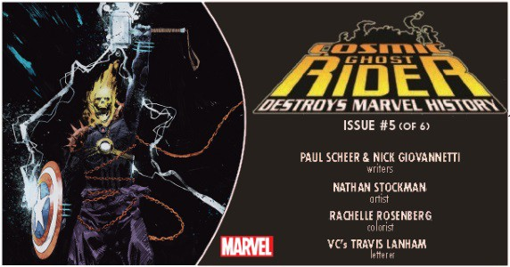 Cosmic Ghost Rider Destroys Marvel History #5 preview feature