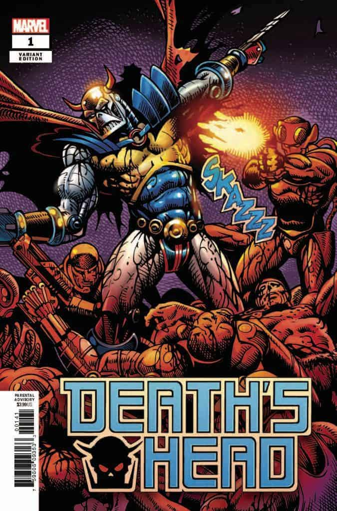 Death's Head #1 - Cover D