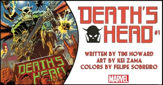 Death's Head #1 preview feature