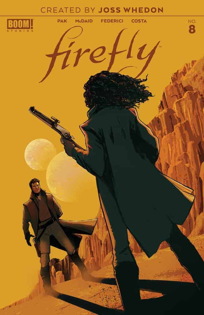 Firefly #8 - Main Cover