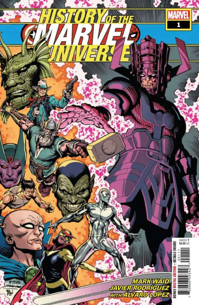 HISTORY OF THE MARVEL UNIVERSE #1 - Cover A