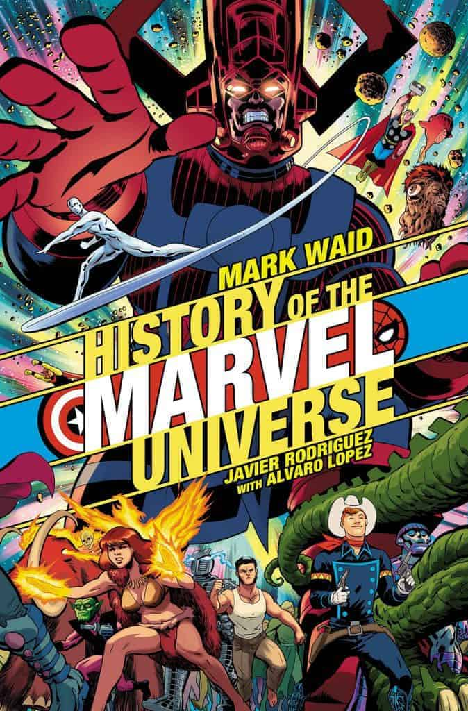 HISTORY OF THE MARVEL UNIVERSE #1 - Cover B