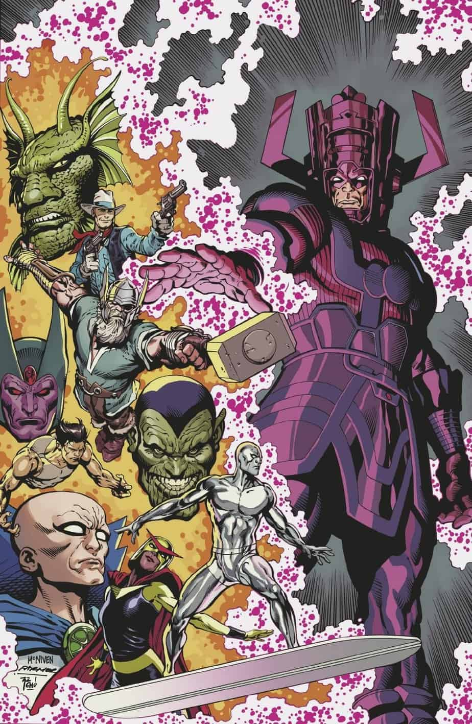 HISTORY OF THE MARVEL UNIVERSE #1 - Cover F