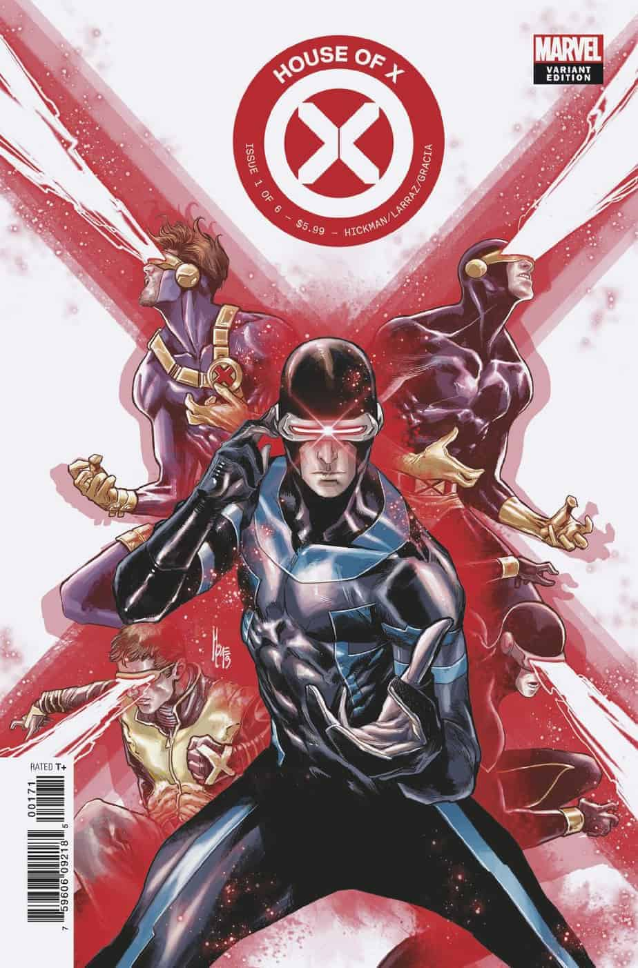 HOUSE OF X #1 - Cover F