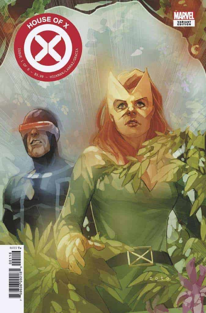 HOUSE OF X #1 - Cover H