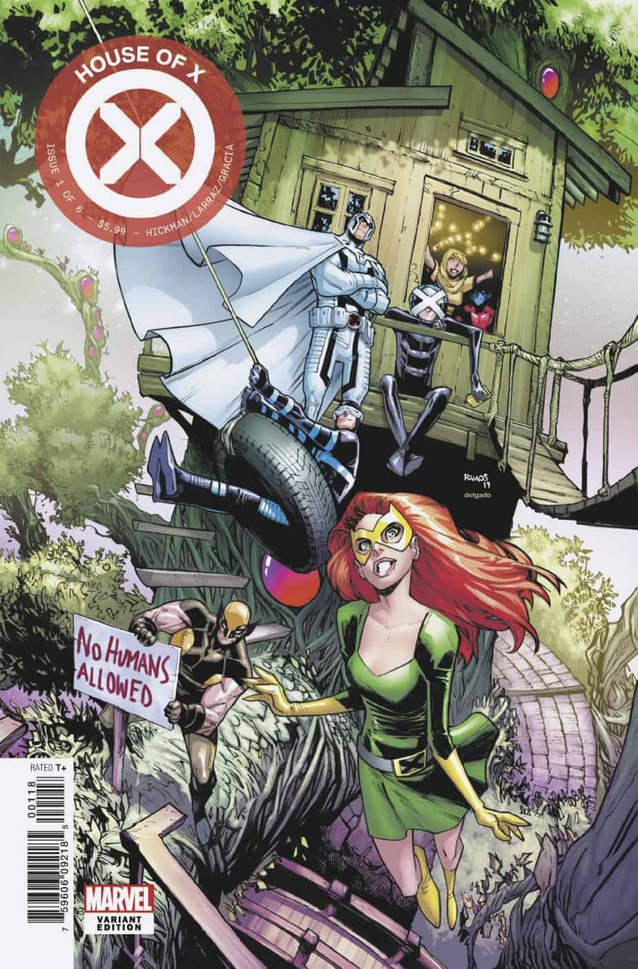 HOUSE OF X #1 - Cover K