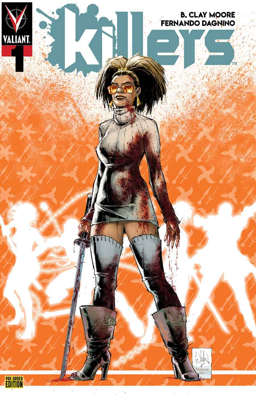 KILLERS #1 - Pre-Order Edition Variant