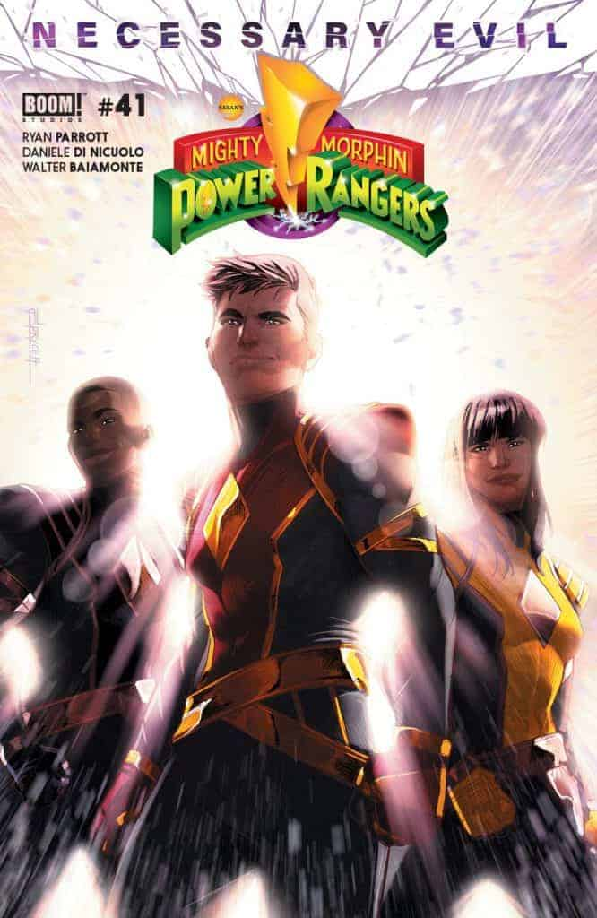 Mighty Morphin Power Rangers #41 - Main Cover