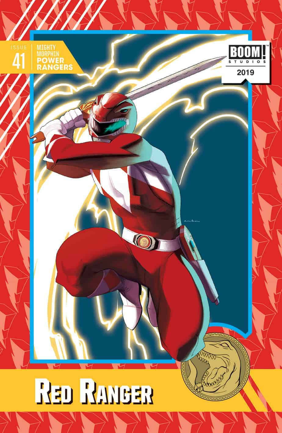 Mighty Morphin Power Rangers #41 - Trading Card Variant