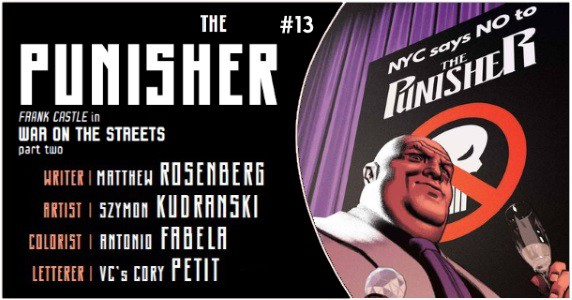 Punisher #13 preview feature