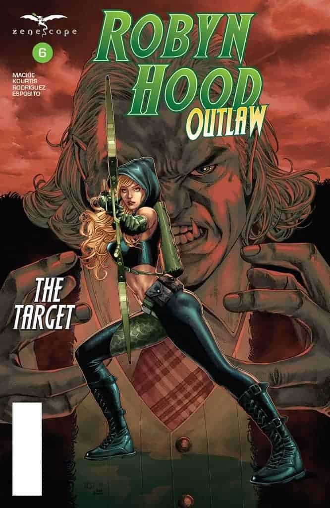 ROBYN HOOD: OUTLAW #6 - Cover A