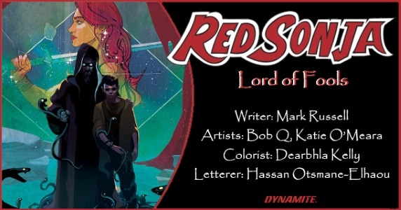 Red Sonja Lord of Fools preview feature
