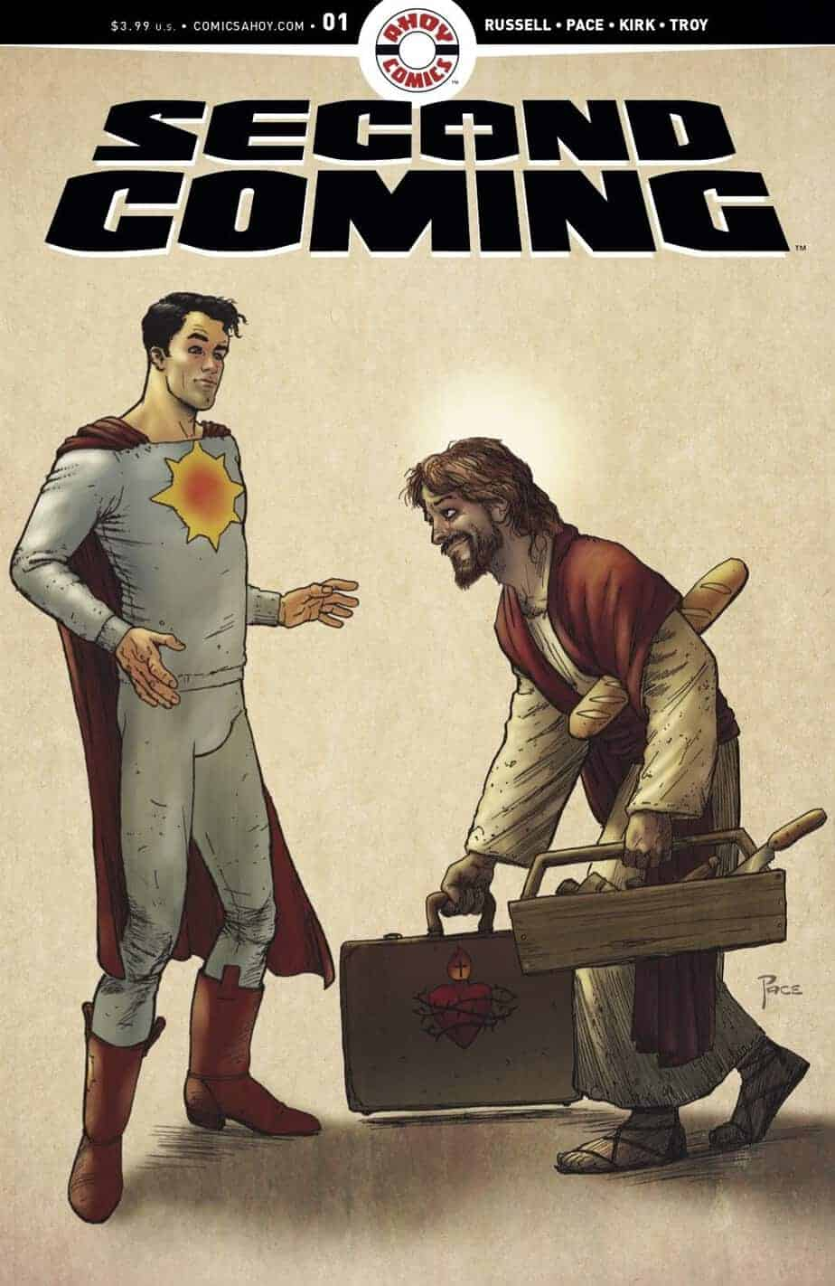 THE SECOND COMING #1 - Cover B