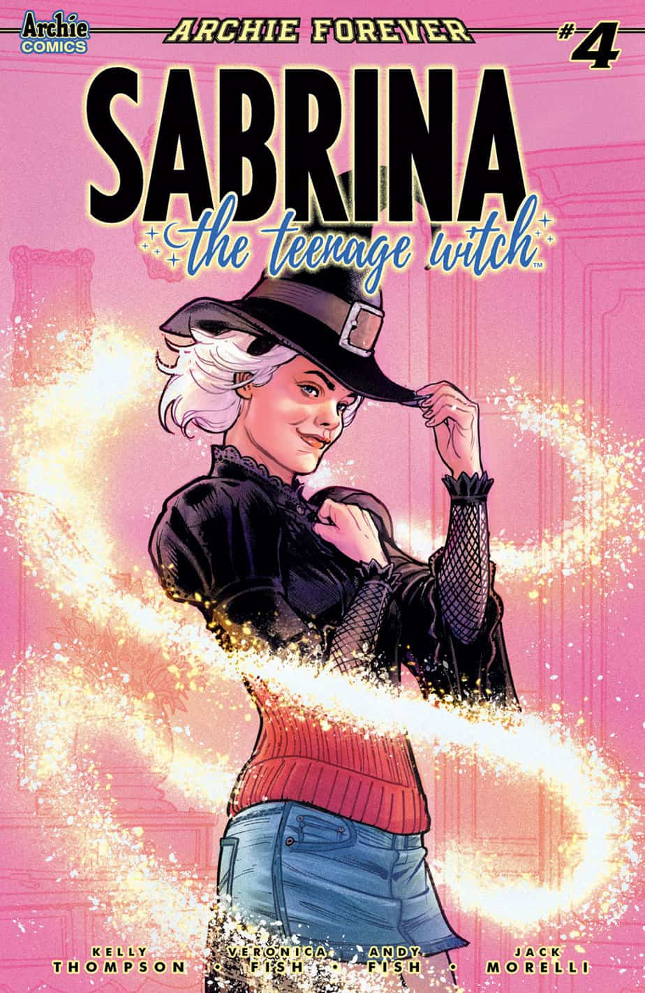 SABRINA THE TEENAGE WITCH #4 - Variant Cover by Victor Ibanez