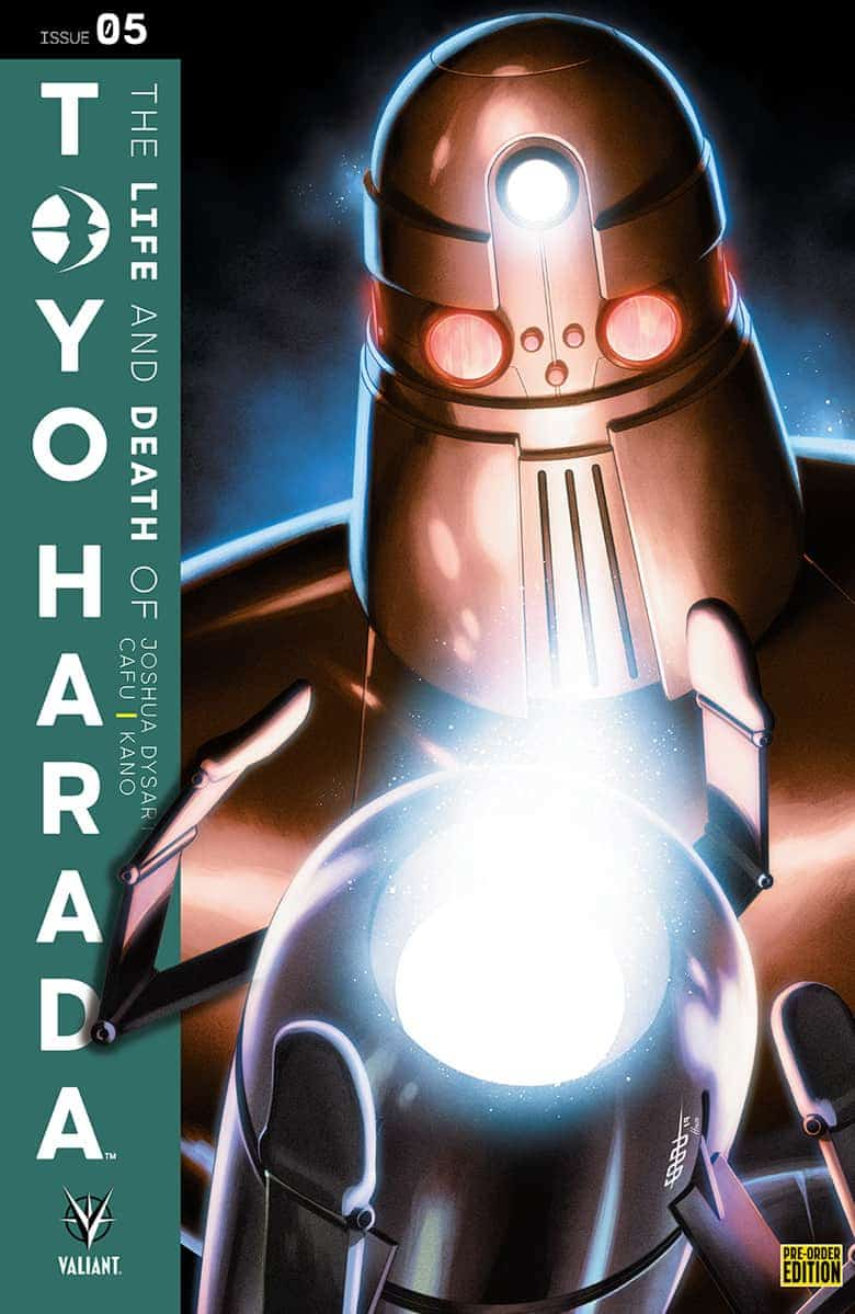 THE LIFE AND DEATH OF TOYO HARADA #5 - Pre-Order Edition Cover