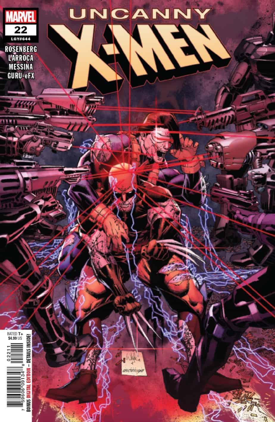 UNCANNY X-MEN #22 - Cover A