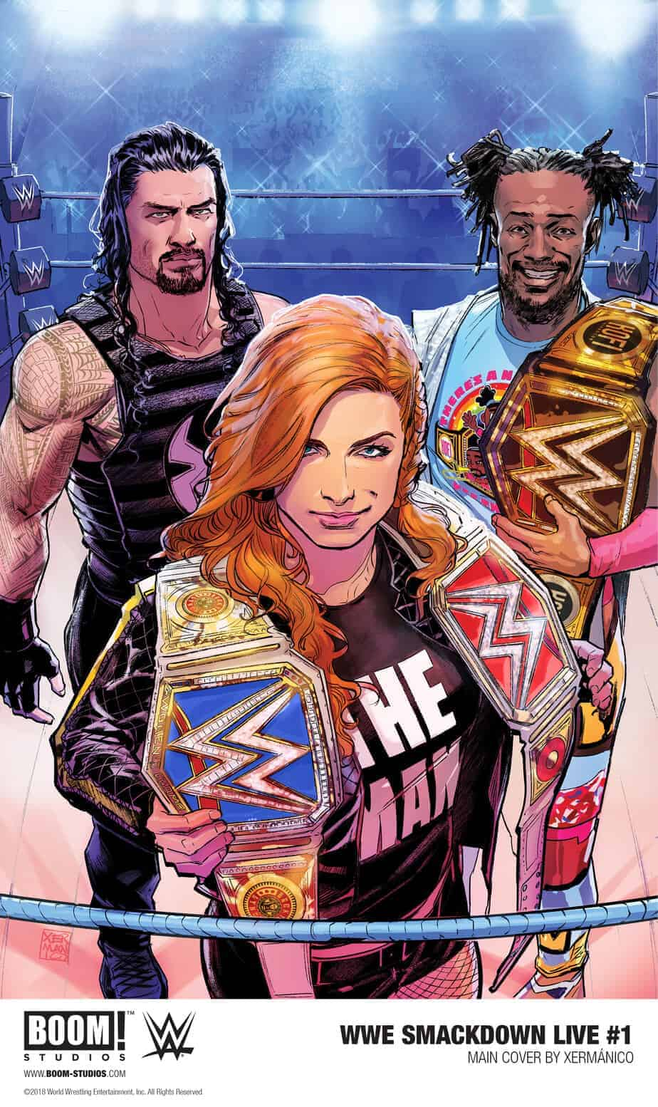 WWE SMACKDOWN LIVE #1 Main Cover by Xermánico