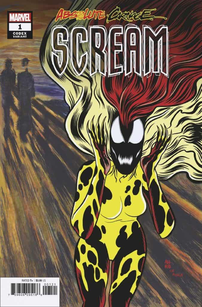 ABSOLUTE CARNAGE: SCREAM #1 - Cover B