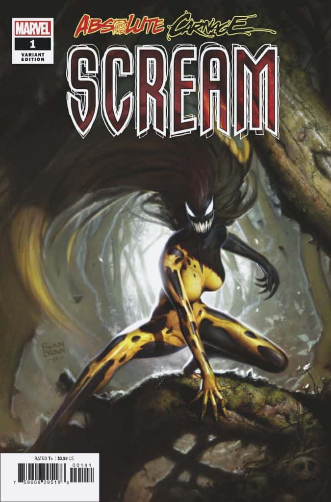 ABSOLUTE CARNAGE: SCREAM #1 - Cover D