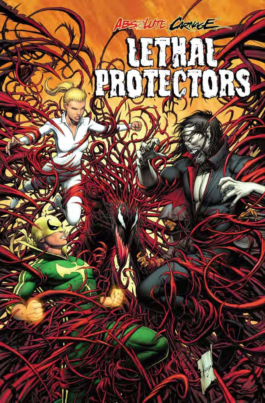 Absolute Carnage: Lethal Protectors #1 - Variant Cover by Dale Keown