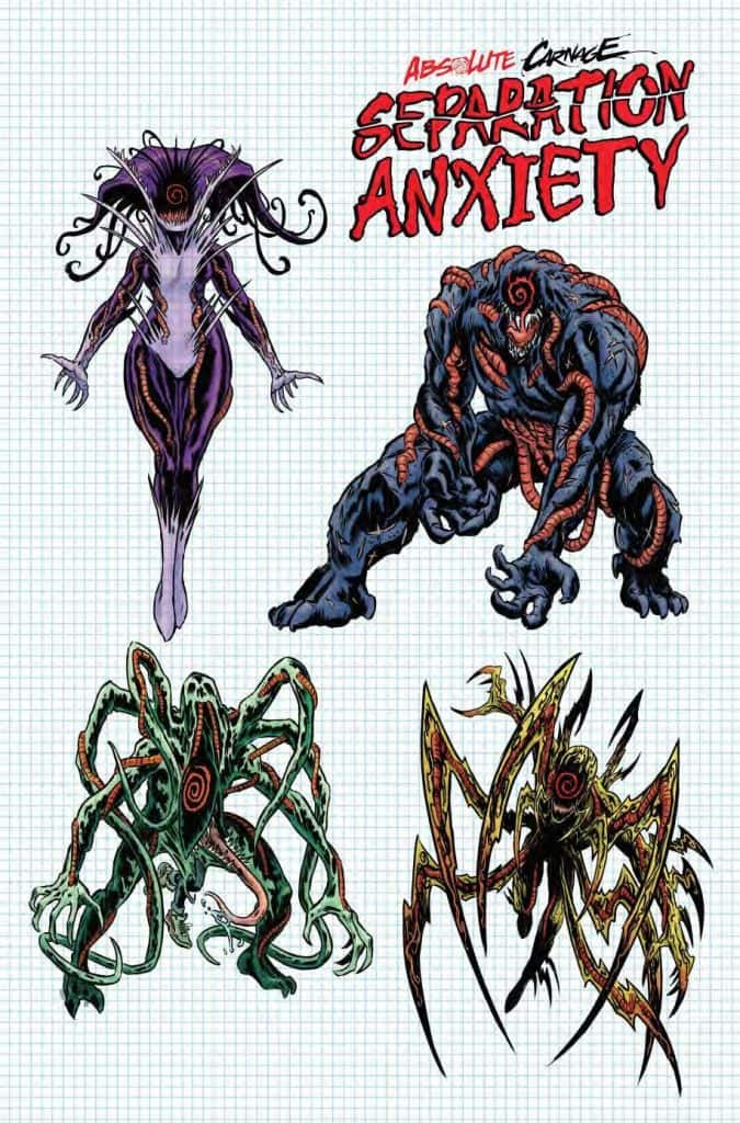 Absolute Carnage: Separation Anxiety #1 - Cover C