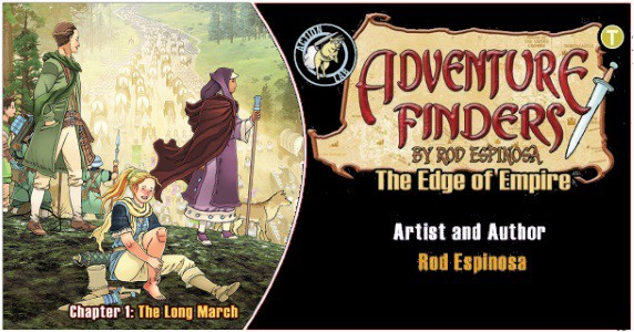 Adventure Finders The Edge of Empire #1 preview feature