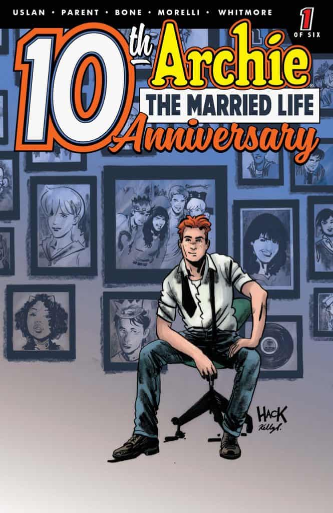 ARCHIE: THE MARRIED LIFE 10 YEARS LATER #1 - Cover D by Robert Hack