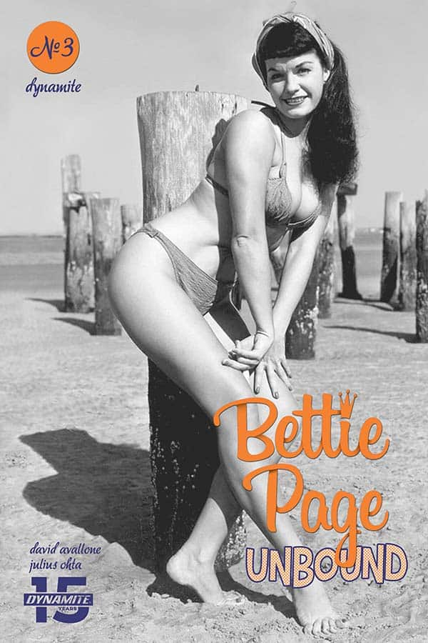Bettie Page: Unbound #3 - Cover E