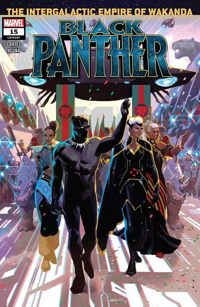 Black Panther #15 - Cover A