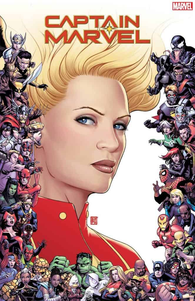 CAPTAIN MARVEL #9 - Cover C