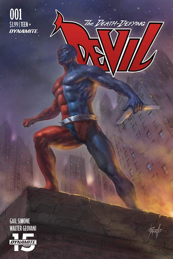 The Death-Defying Devil #1 - Cover B