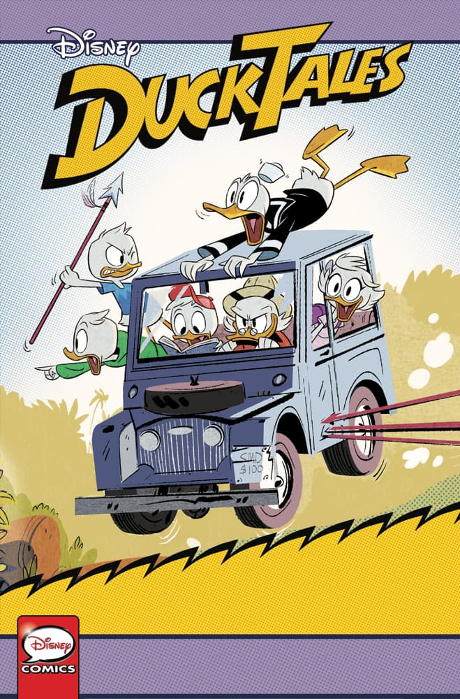 DuckTales: Silence and Science #3 - Cover B