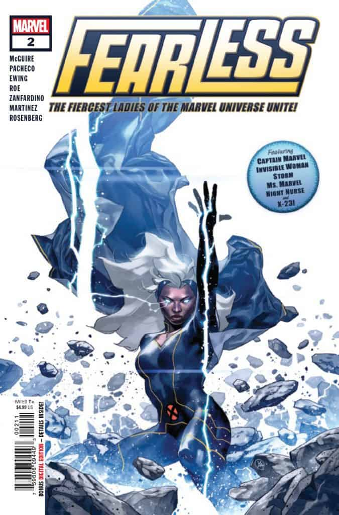 FEARLESS #2 - Cover A