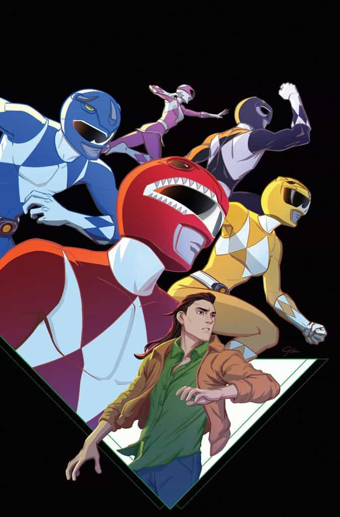 GO GO POWER RANGERS #25 - Main Cover